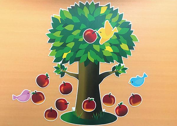 りんごと木と小鳥