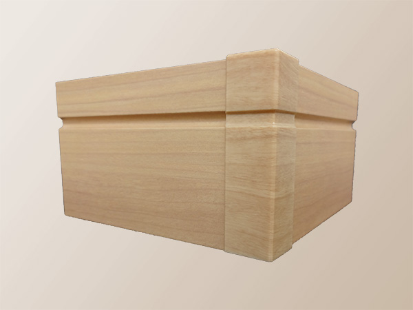 3Dプリンター:木目転写 ABSライク+木目転写